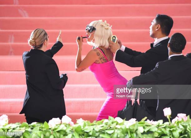 Lady Gaga attends the 2019 Met Gala Celebrating 'Camp Notes on Fashion' at Metropolitan Museum of Art on May 06 2019 in New York City