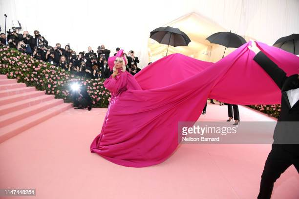 Lady Gaga attends The 2019 Met Gala Celebrating Camp Notes on Fashion at Metropolitan Museum of Art on May 06 2019 in New York City
