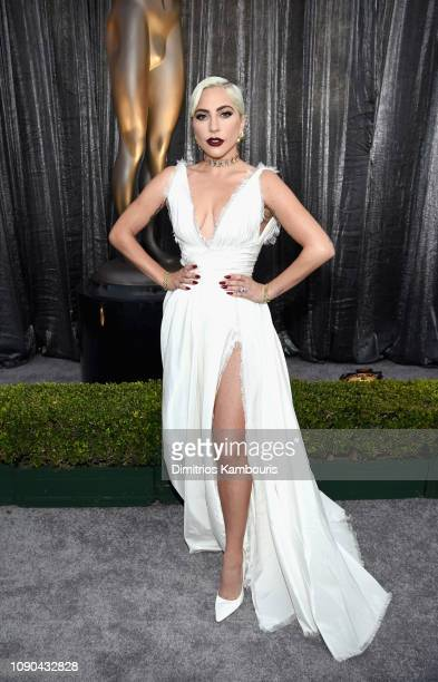 Lady Gaga attends the 25th Annual Screen ActorsGuild Awards at The Shrine Auditorium on January 27 2019 in Los Angeles California 480595
