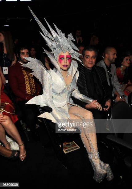 Lady Gaga attends the 52nd Annual GRAMMY Awards held at Staples Center on January 31 2010 in Los Angeles California
