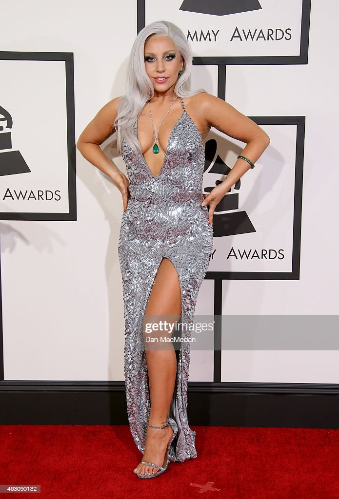 Lady Gaga attends The 57th Annual GRAMMY Awards at the STAPLES Center on February 8, 2015 in Los Angeles, California.