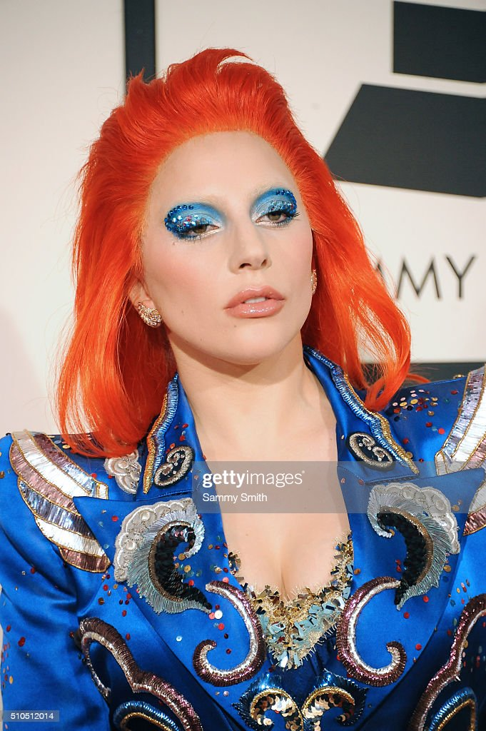Lady Gaga attends the 58th GRAMMY Awards at Staples Center February 15, 2016 in Los Angeles, California.