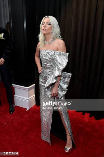 Lady Gaga attends the 61st Annual GRAMMY Awards at Staples Center on February 10 2019 in Los Angeles California