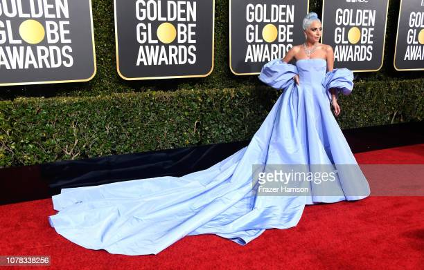 Lady Gaga attends the 76th Annual Golden Globe Awards at The Beverly Hilton Hotel on January 6 2019 in Beverly Hills California