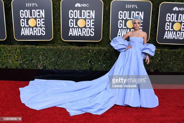 Lady Gaga attends the 76th Annual Golden Globe Awards at The Beverly Hilton Hotel on January 06 2019 in Beverly Hills California