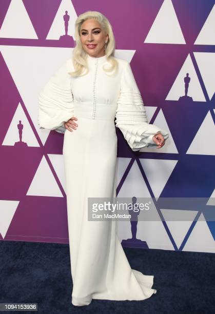 Lady Gaga attends the 91st Oscars Nominees Luncheon at The Beverly Hilton Hotel on February 4 2019 in Beverly Hills California