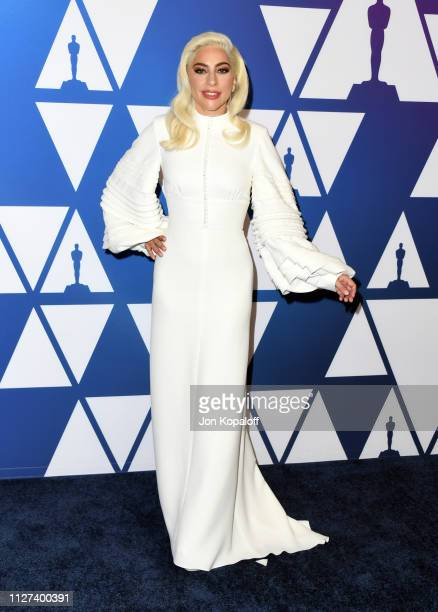 Lady Gaga attends the 91st Oscars Nominees Luncheon at The Beverly Hilton Hotel on February 04 2019 in Beverly Hills California
