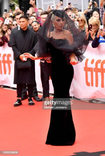 Lady Gaga attends the A Star Is Born premiere during 2018 Toronto International Film Festival at Roy Thomson Hall on September 9 2018 in Toronto...