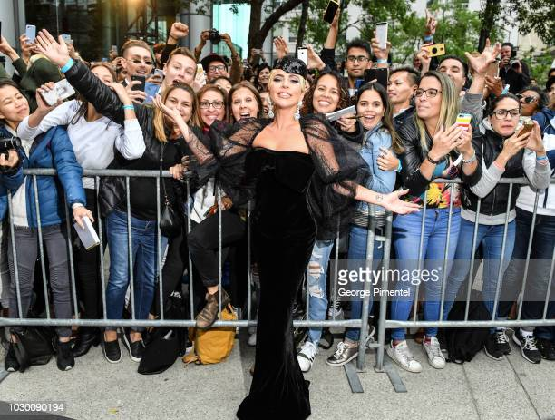 Lady Gaga attends the 'A Star Is Born' premiere during 2018 Toronto International Film Festival at Roy Thomson Hall on September 9 2018 in Toronto...
