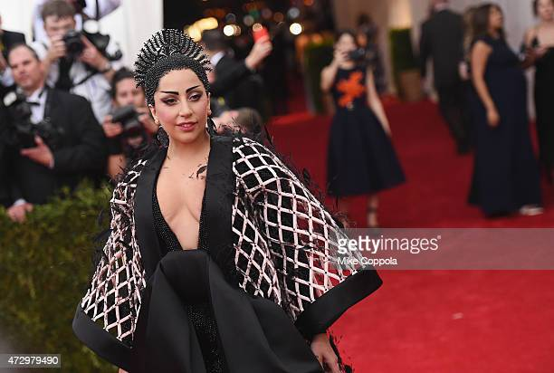Lady Gaga attends the China Through The Looking Glass Costume Institute Benefit Gala at the Metropolitan Museum of Art on May 4 2015 in New York City