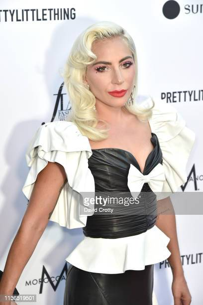 Lady Gaga attends The Daily Front Row Fifth Annual Fashion Los Angeles Awards at Beverly Hills Hotel on March 17 2019 in Beverly Hills California