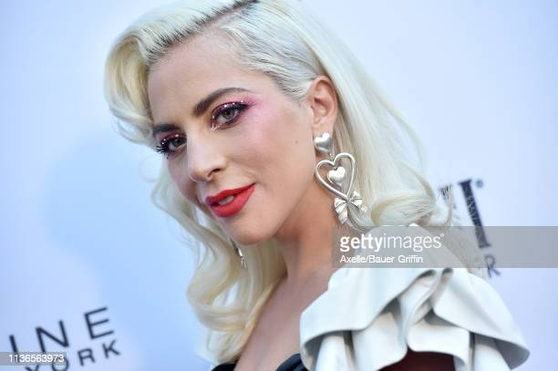 Lady Gaga attends The Daily Front Row's 5th Annual Fashion Los Angeles Awards at Beverly Hills Hotel on March 17 2019 in Beverly Hills California