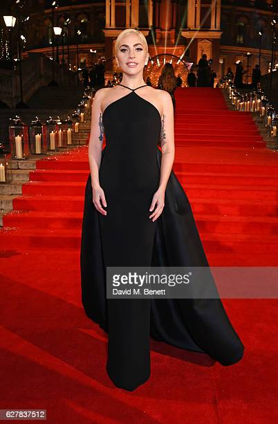Lady Gaga attends The Fashion Awards 2016 at Royal Albert Hall on December 5 2016 in London United Kingdom