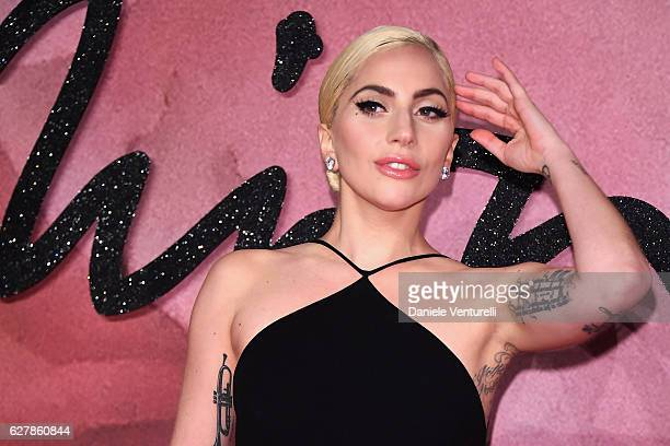 Lady Gaga attends The Fashion Awards 2016 on December 5 2016 in London United Kingdom
