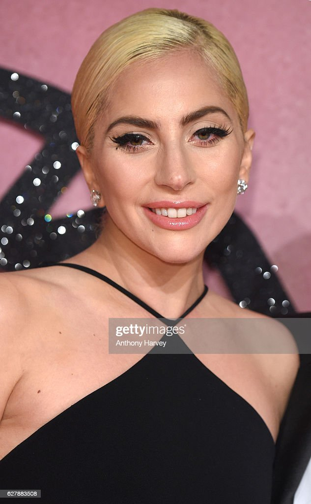 Lady Gaga attends The Fashion Awards 2016 on December 5, 2016 in London, United Kingdom.