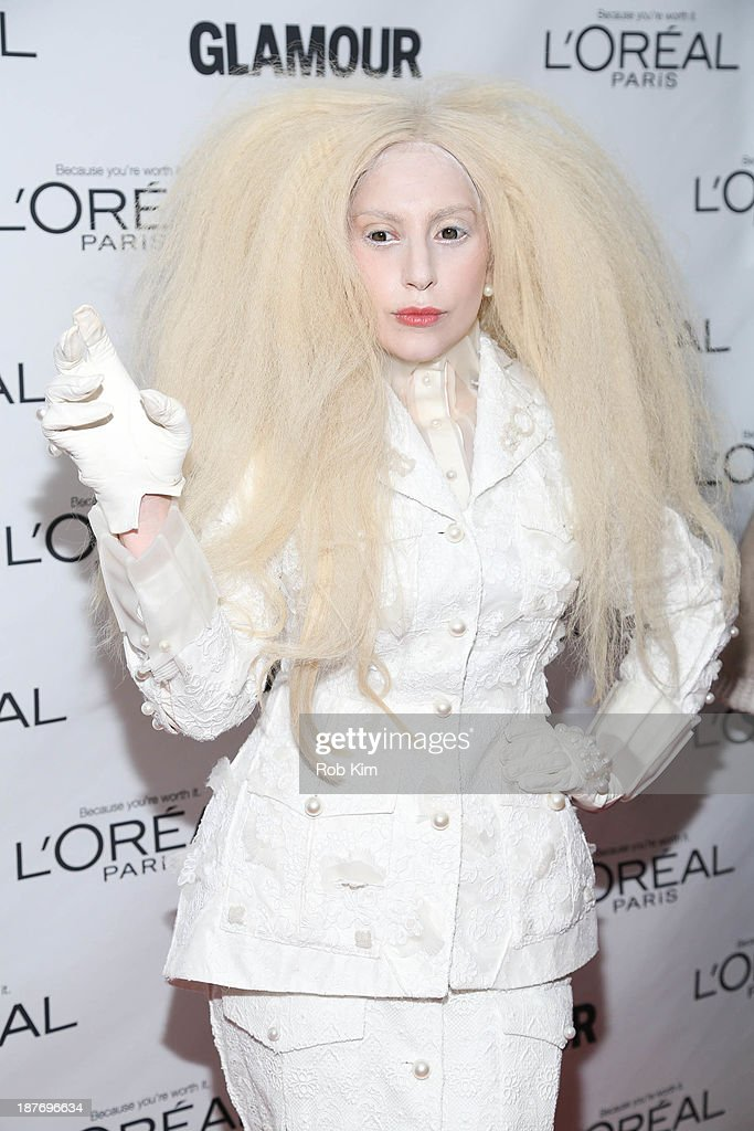 Lady Gaga attends the Glamour Magazine 23rd annual Women Of The Year gala on November 11, 2013 in New York City.