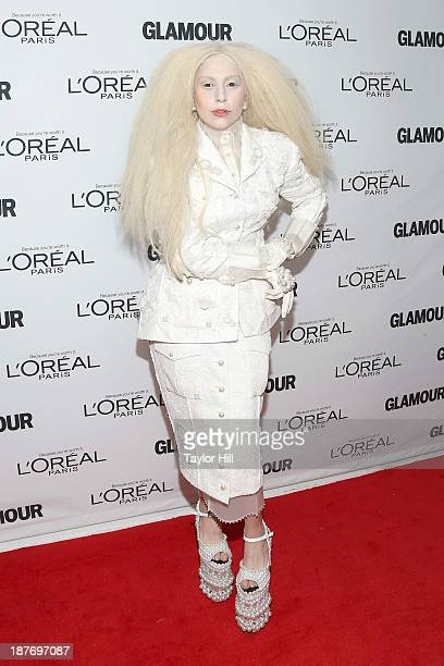 Lady Gaga attends the Glamour Magazine 23rd annual Women Of The Year gala on November 11 2013 in New York United States