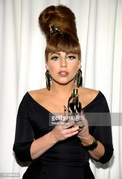 Lady Gaga attends the Lady Gaga Fame eau de parfum launch at Macy's Herald Square on September 14 2012 in New York City