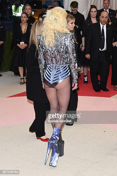 Lady Gaga attends the 'Manus x Machina: Fashion In An Age Of Technology' Costume Institute Gala at the Metropolitan Museum on May 02, 2016 in New...