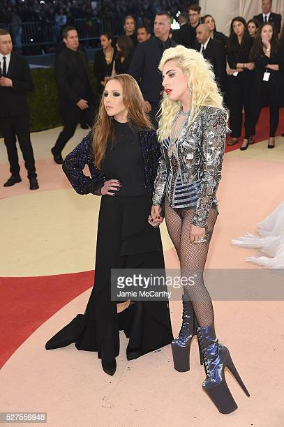 """Lady Gaga attends the """"Manus x Machina: Fashion In An Age Of Technology"""" Costume Institute Gala at Metropolitan Museum of Art on May 2, 2016 in New..."""