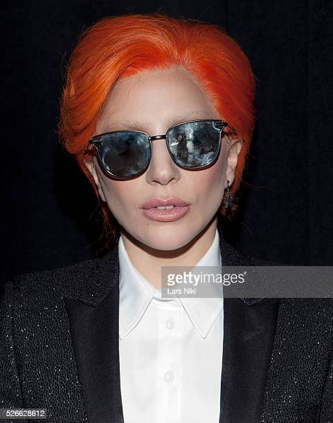 """Lady Gaga attends the """"Nicopanda Fashion Collection Presentation"""" during NYFW A/W 2016 at 541 West 22nd Street in New York City. �� LAN"""