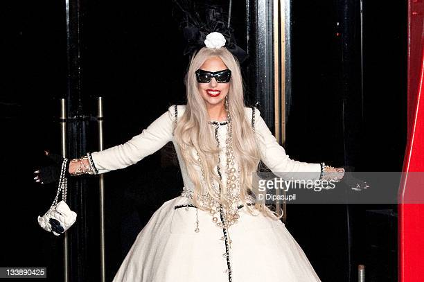 Lady Gaga attends the opening of Gaga's Workshop at Barneys New York on November 21 2011 in New York City
