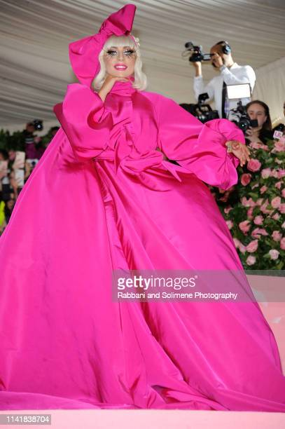 Lady Gaga attends the The 2019 Met Gala Celebrating Camp: Notes On Fashion at The Metropolitan Museum of Art on May 6, 2019 in New York City.
