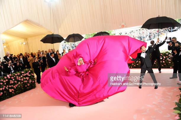 Lady Gaga attends the The 2019 Met Gala Celebrating Camp Notes On Fashion at The Metropolitan Museum of Art on May 6 2019 in New York City