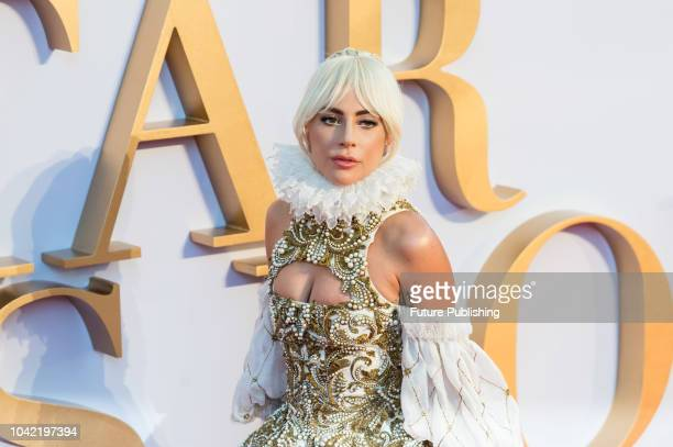 Lady Gaga attends the UK film premiere of 'A Star Is Born' at Vue West End in London September 27 2018 in London United Kingdom