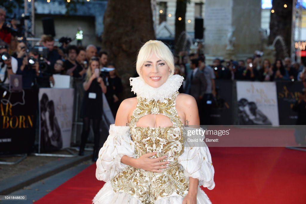 a686c4a511ddbf Lady Gaga attends the UK Premiere of  A Star Is Born  at Vue West ...