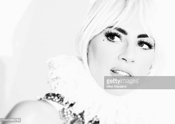 Lady Gaga attends the UK premiere of 'A Star Is Born' held at Vue West End on September 27 2018 in London England
