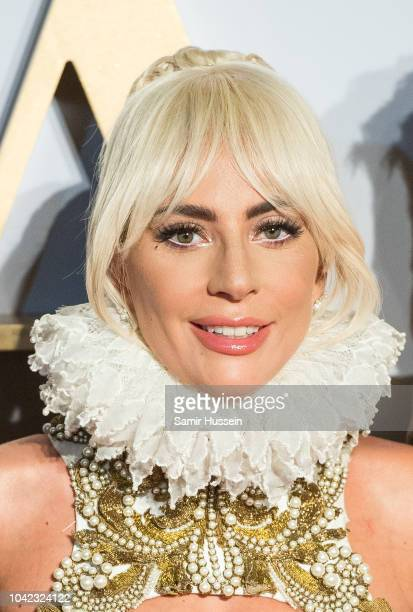 Lady Gaga attends the UK premiere of 'A Star Is Born' held at Vue West End on September 27, 2018 in London, England.