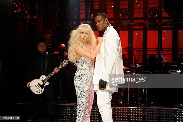 LIVE 'Lady Gaga' Episode 1647 Pictured Lady Gaga R Kelly