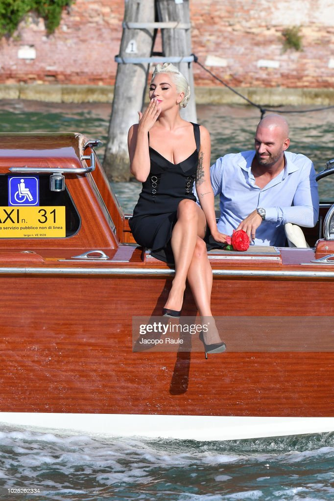 Celebrity Sightings at the 75th Venice Film Festival - August 30, 2018 : News Photo