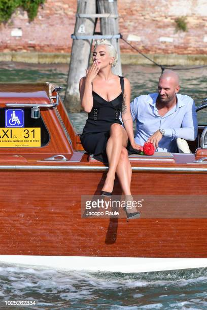Lady Gaga is seen during the 75th Venice Film Festival on August 30 2018 in Venice Italy