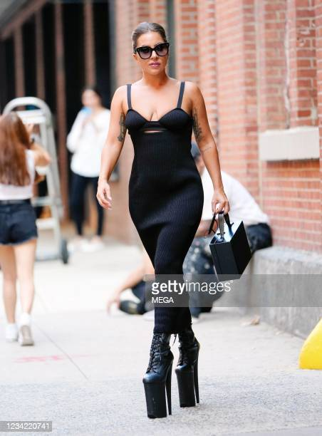Lady Gaga is seen on July 26, 2021 in New York City, New York.