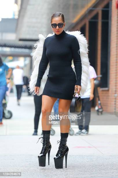 Lady Gaga is seen on July 27, 2021 in New York City, New York.