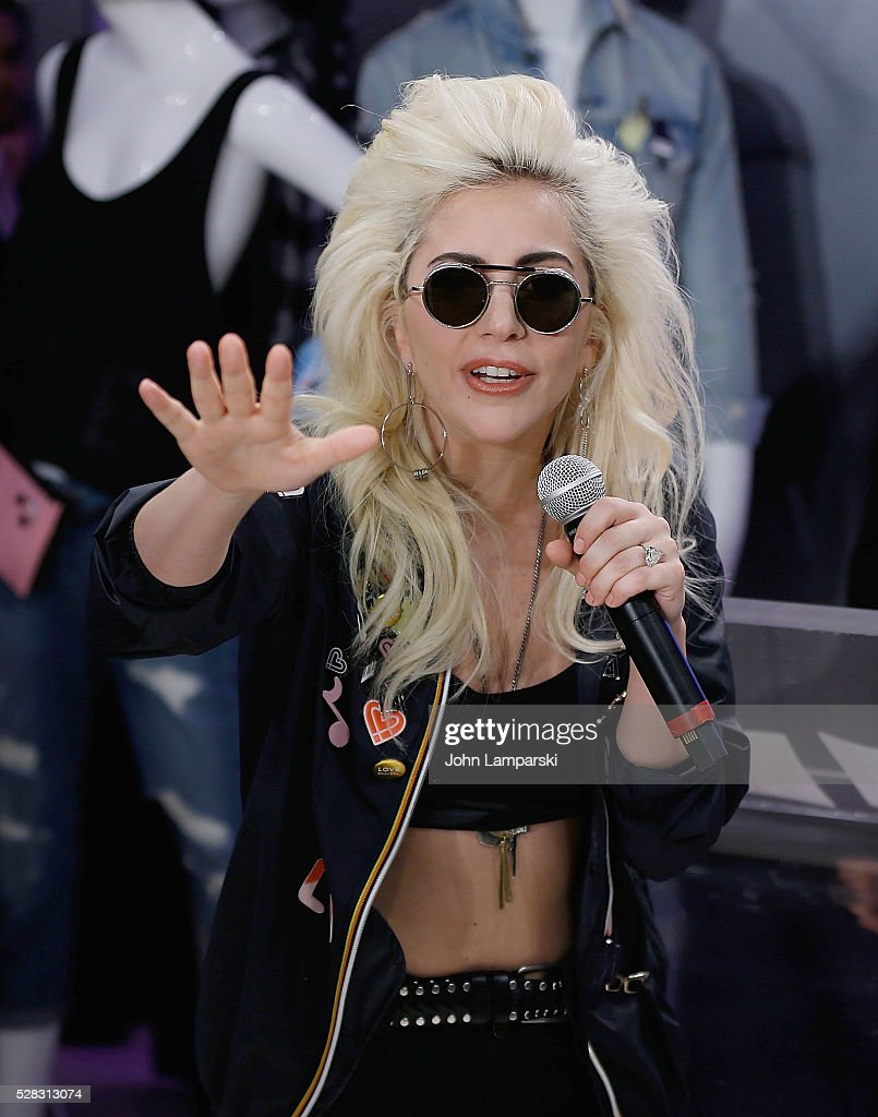 Lady Gaga Launches Love Bravery Collection At Macy's Herald Square : News Photo