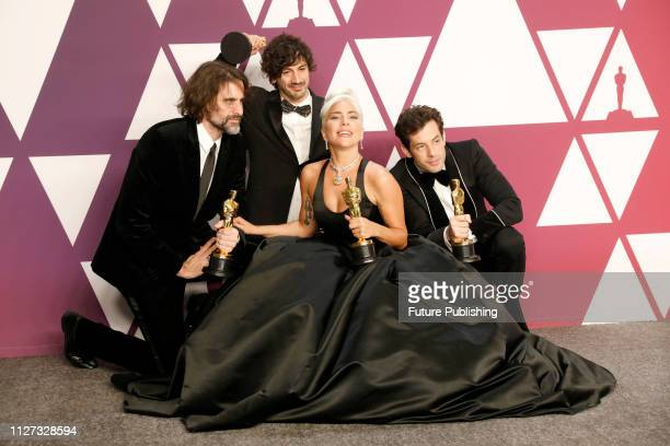 Lady Gaga Mark Ronson Anthony Rossomando Andrew Wyatt Best Original Song 'Shallow' A Star Is Born 91st Annual Academy Awards press room at the Dolby...