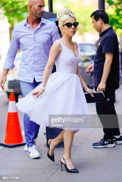 Lady Gaga on May 24 2018 in New York City