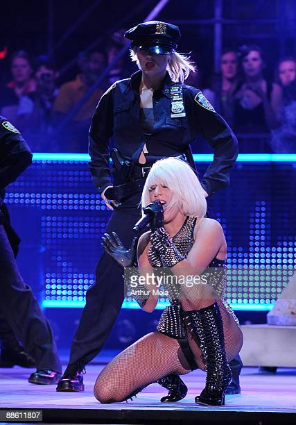Lady Gaga performs at the 20th Annual MuchMusic Video Awards at the MuchMusic HQ on June 21, 2009 in Toronto, Canada.
