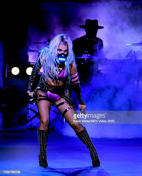 Lady Gaga performs during the 2020 MTV Video Music Awards, broadcast on Sunday, August 30th 2020.