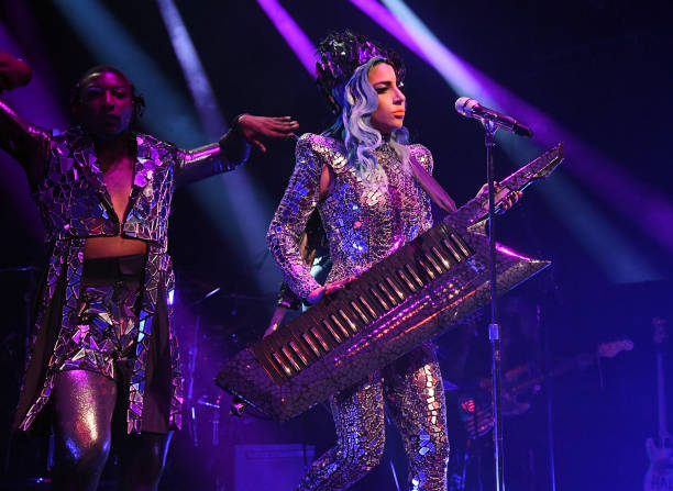 NY: SiriusXM + Pandora Present Lady Gaga At The Apollo