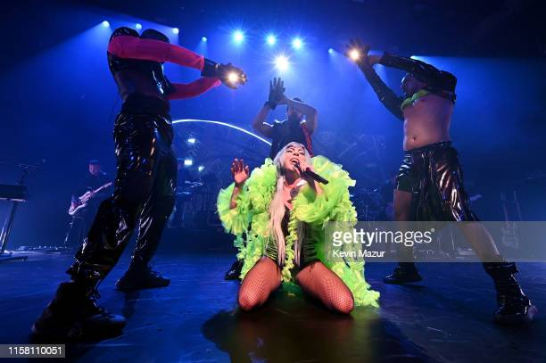 Lady Gaga performs onstage during SiriusXM Pandora Present Lady Gaga At The Apollo on June 24 2019 in New York City