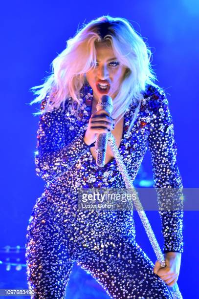 Lady Gaga performs onstage during the 61st Annual GRAMMY Awards at Staples Center on February 10 2019 in Los Angeles California