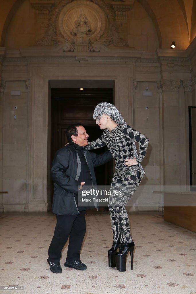 Lady Gaga Sighting In Paris