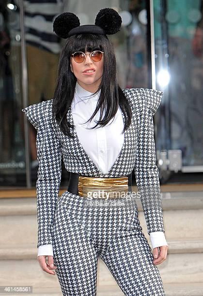 Lady Gaga sighting on August 31 2013 in London United Kingdom