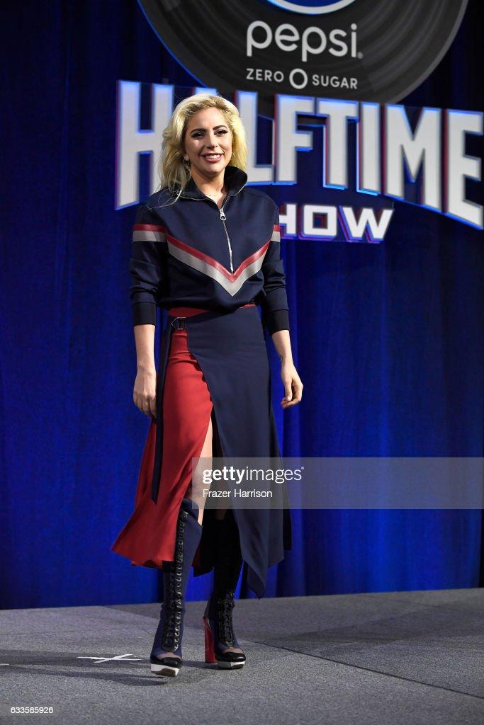 Pepsi Zero Sugar Super Bowl LI Halftime Show Press Conference : News Photo