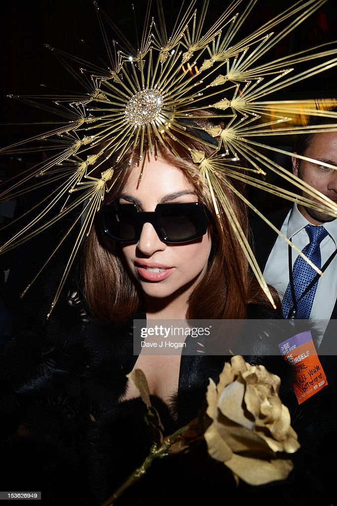 Lady Gaga Launches Debut Fragrance, Fame At Harrods, London : News Photo
