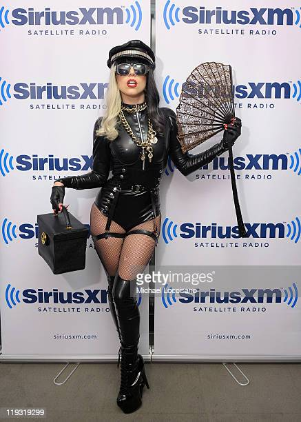 Lady Gaga visits The Howard Stern Show on SiriusXM Hits 1 at SiriusXM Studio on July 18 2011 in New York City